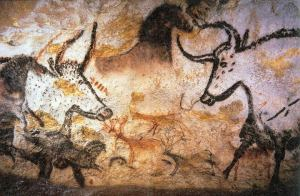 Photo of Lascaux painting by Prof saxx
